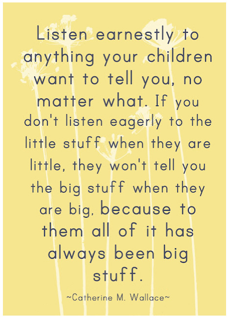 listen earnestly quote by Catherine M. Wallace