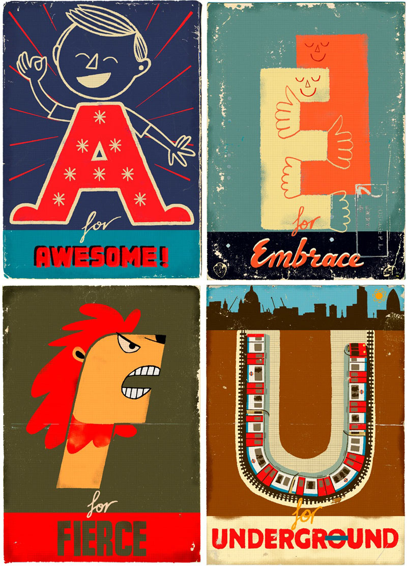 Paul Thurlby Alphabet Book