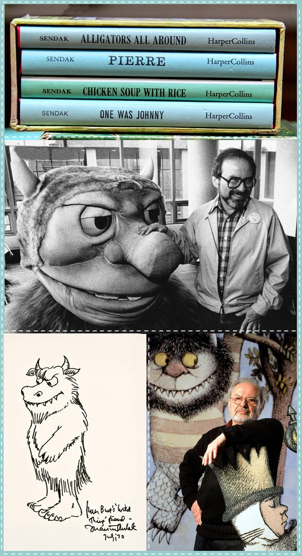 Maurice Sendak, beloved children's book author