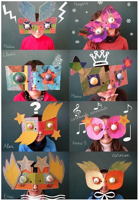 masks by Neusa Lopez
