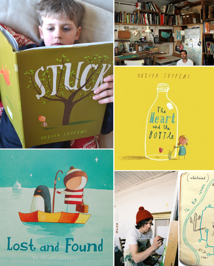 we love Oliver Jeffers!