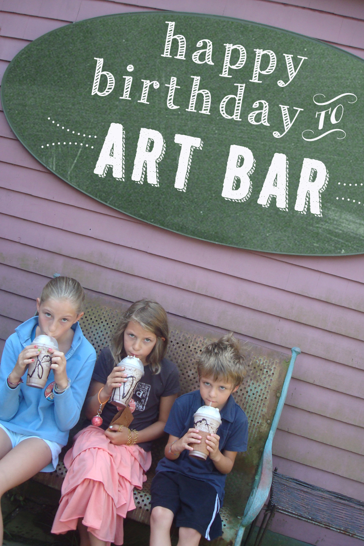Art Bar is a year old!