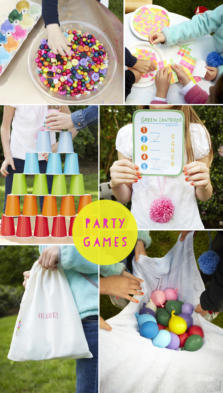 great party games for kids