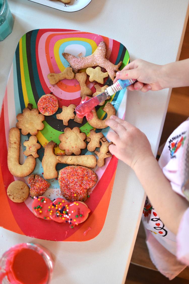 sugar cookie making {dairy free} | art bar