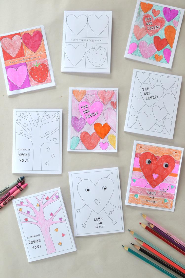 valentine's printables are fun!
