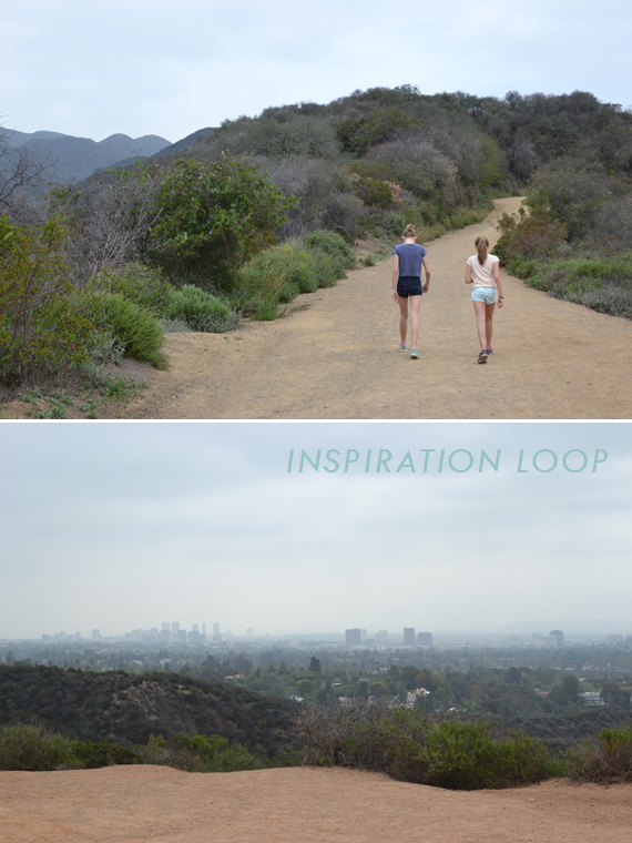 inspiration loop at roy rogers park :: our trip to LA