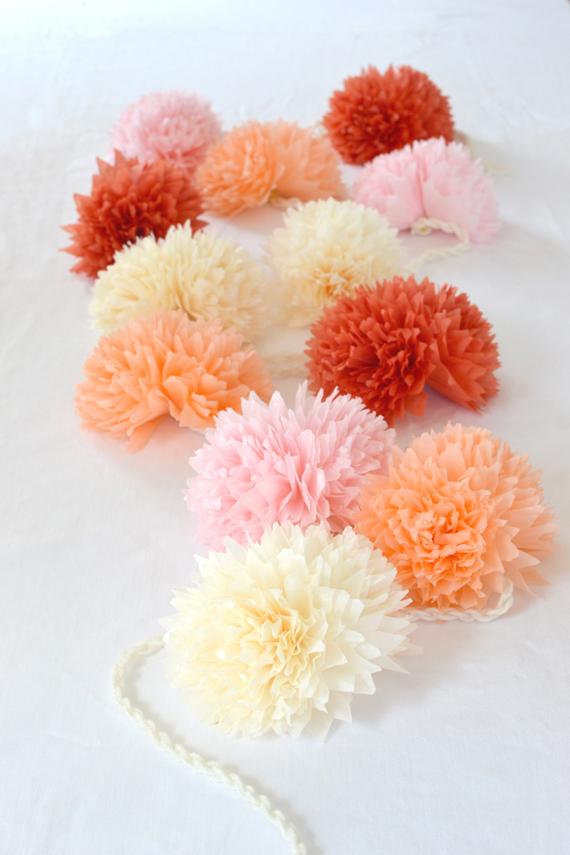 Tissue paper flower garland artbar mopa magazine ss 2014 mightylinksfo