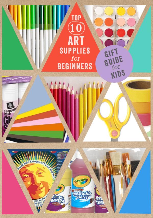 perfect started list, from an art teacher