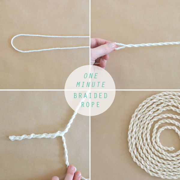 DIY braided rope is so easy