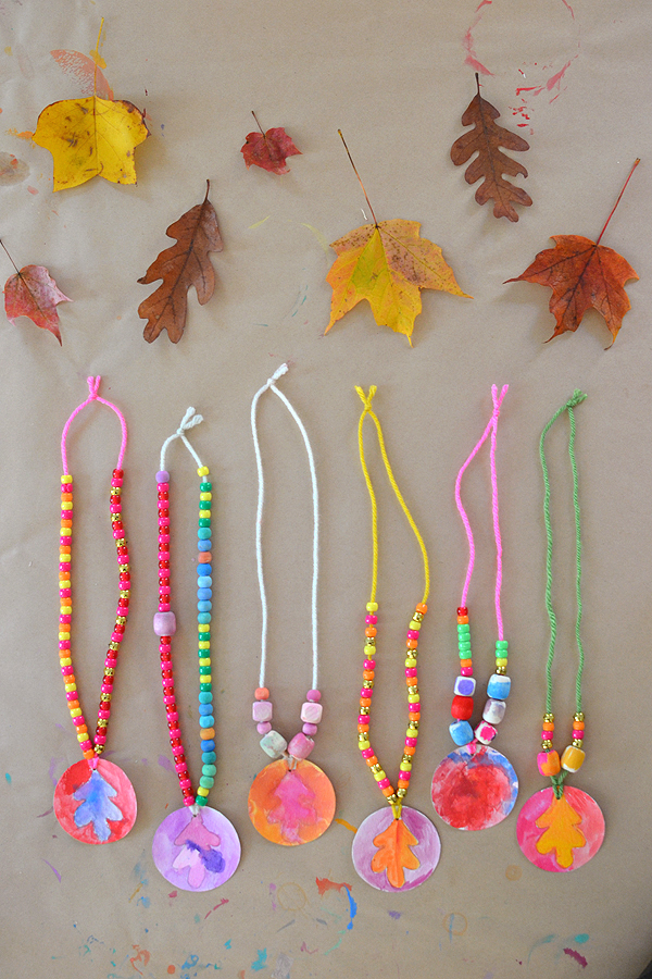 beaded necklaces | Art Bar Blog for Land of Nod