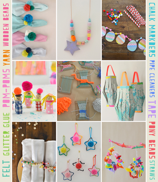 projects using my Top 10 Crafts Supplies list