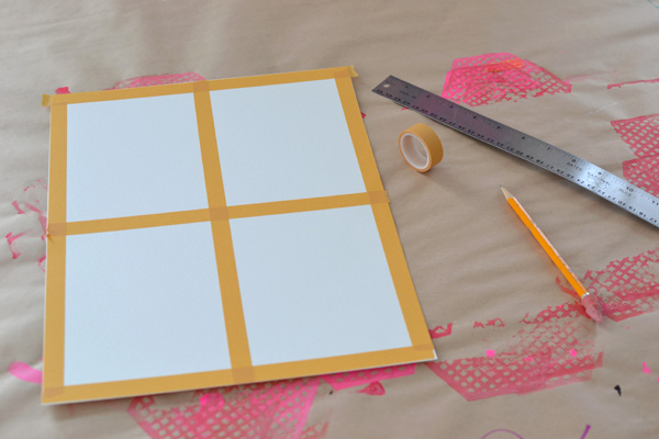 Make a painting for Valentines ~ great little art project for teens.