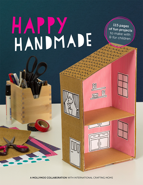 Happy Handmade E-book by Molly Moo (Art Bar as contributor)