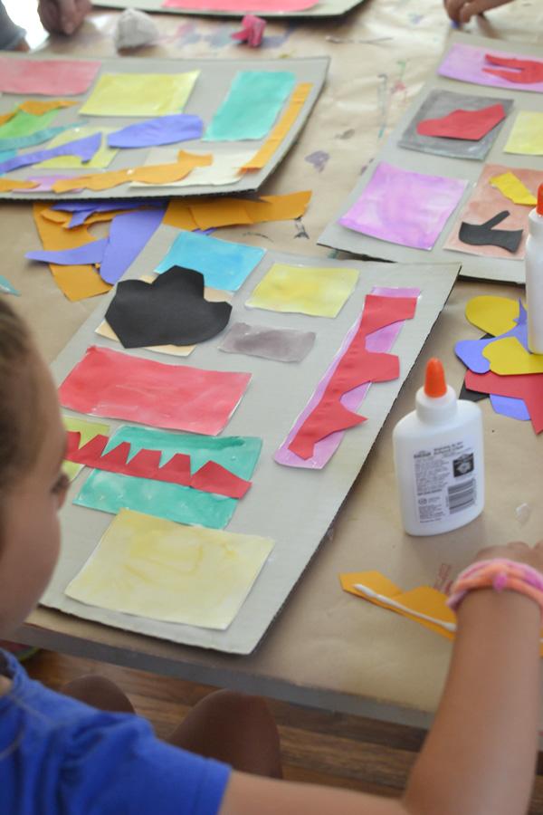 kids study artists