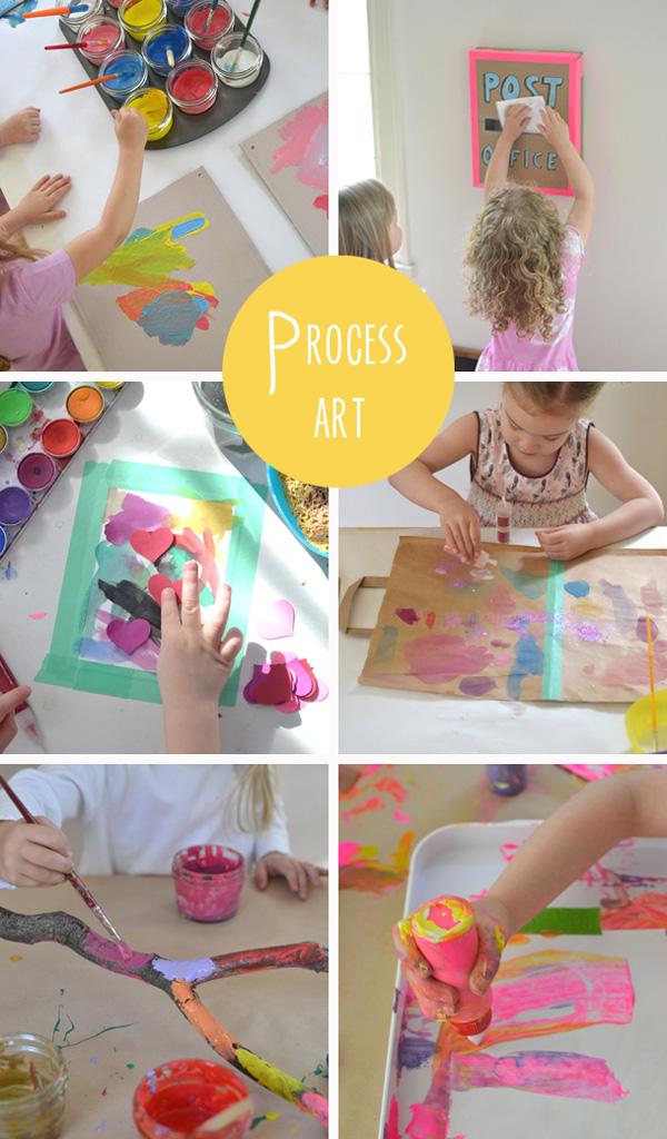 30 creative ideas {process art}