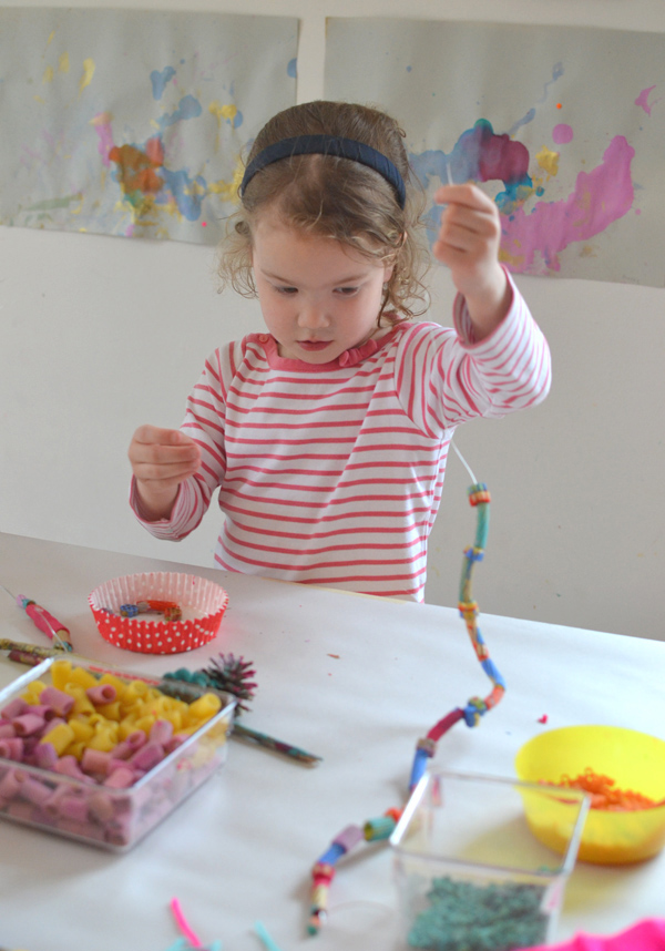 teaching kids the art of assembling bits and pieces