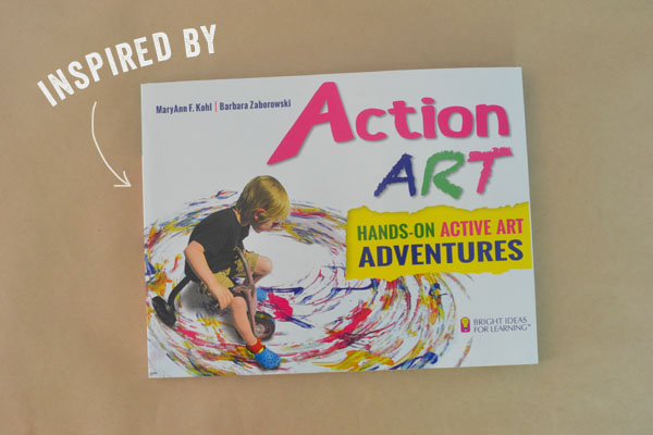 Action Art by MaryAnn Kohl for hands-on active art adventures!