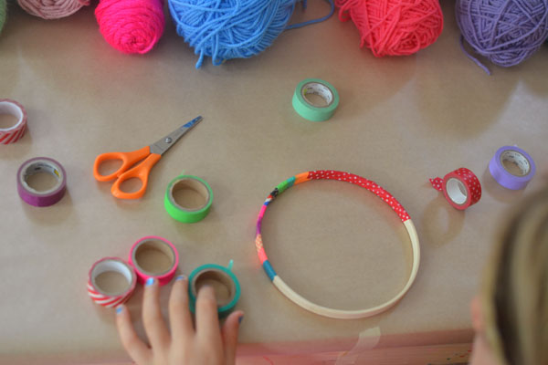 DIY Dream Catchers Made By Kids ARTBAR Extraordinary Dream Catcher History For Kids