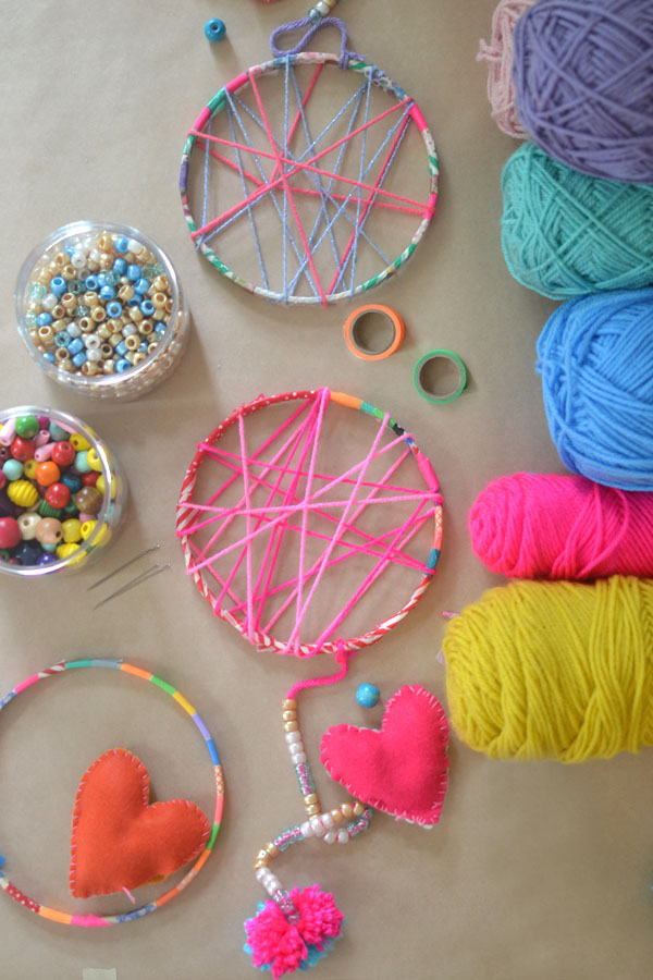 Dream Catchers For Children DIY Dream Catchers Made by Kids ARTBAR 17