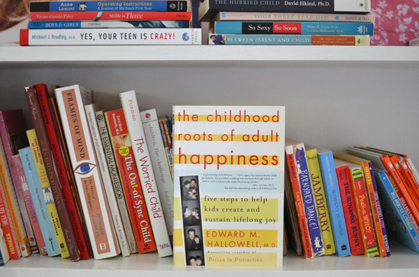 My parenting philosophy grew from this book by Edward Halliwell called The Childhood Secrets of Adult Happiness