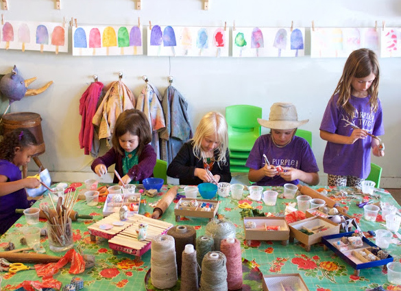 An interview with Samara Caughey, creative force behind the children's art studio Purple Twig in L.A.