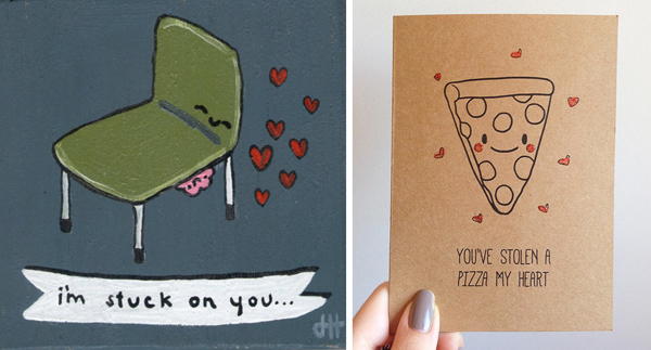 The best 8 Valentine puns for your homemade cards