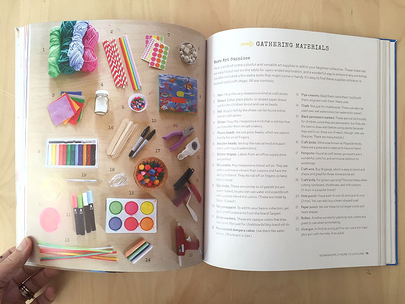 My labor of love is finally here! Art Workshop for Children by Barbara Rucci