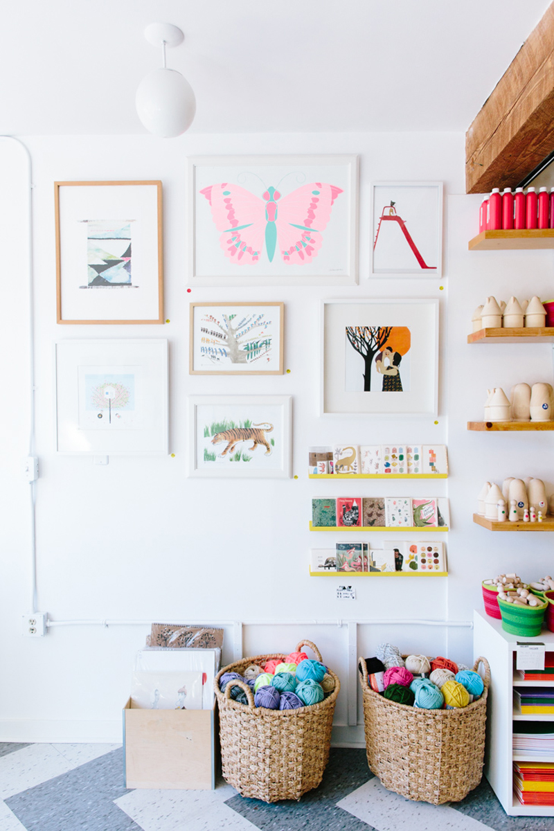 An interview with Erin Boniferro, creative force behind the children's art studio and shop Collage Collage in Vancouver, BC