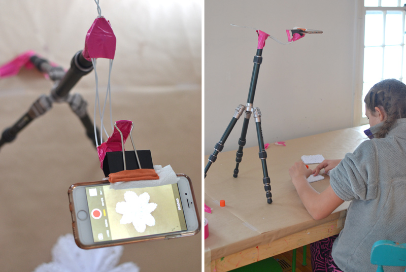 How to jerry-rig a tripod arm for an iPhone