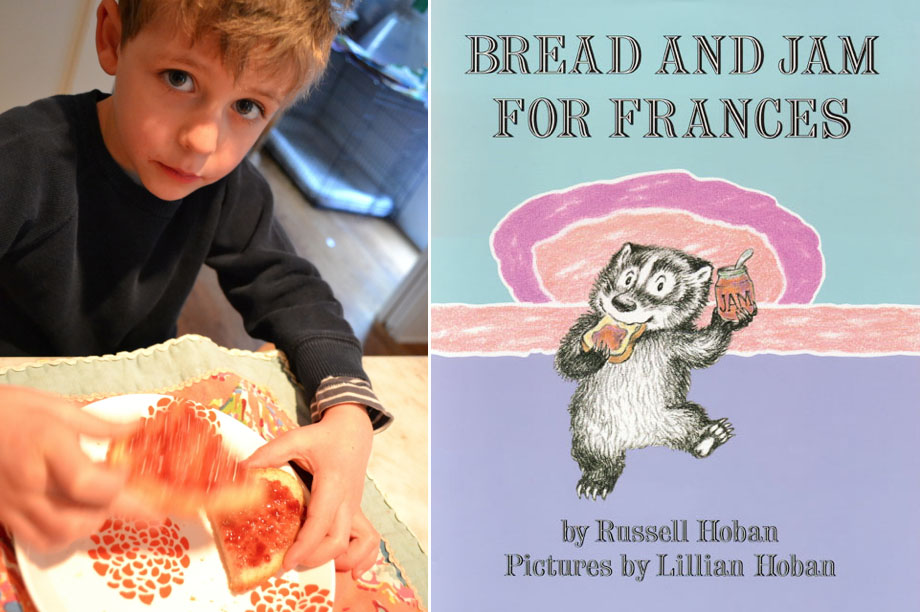 Bread and Jam for Francis, our favorite book