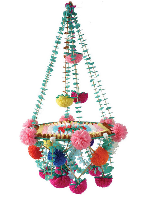 traditional Polish paper chandelier