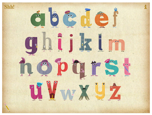 Ministry of Letters ~ the singing alphabet app