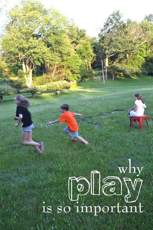 stop the over-schduling! why play is so important in the development of a child