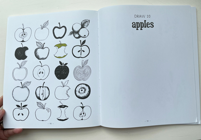 20 Ways to Draw a Tree, by Eloise Renouf
