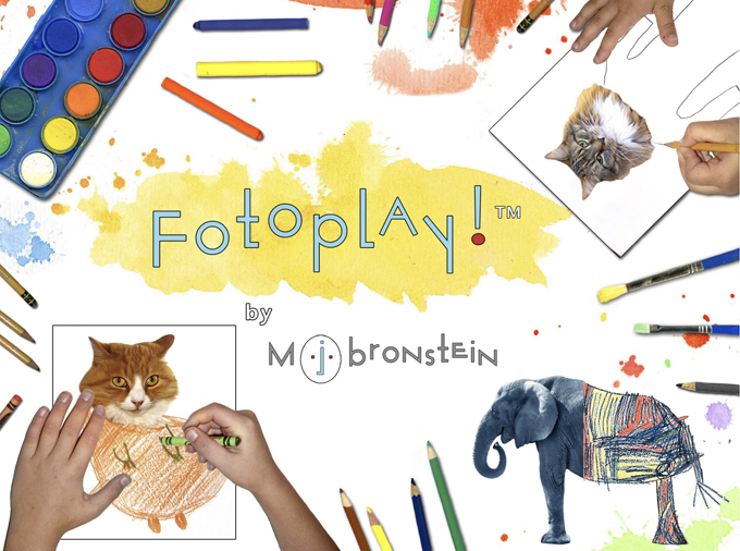 Fotoplay! by MJ Bronstein, a drawing book of photo prompts.