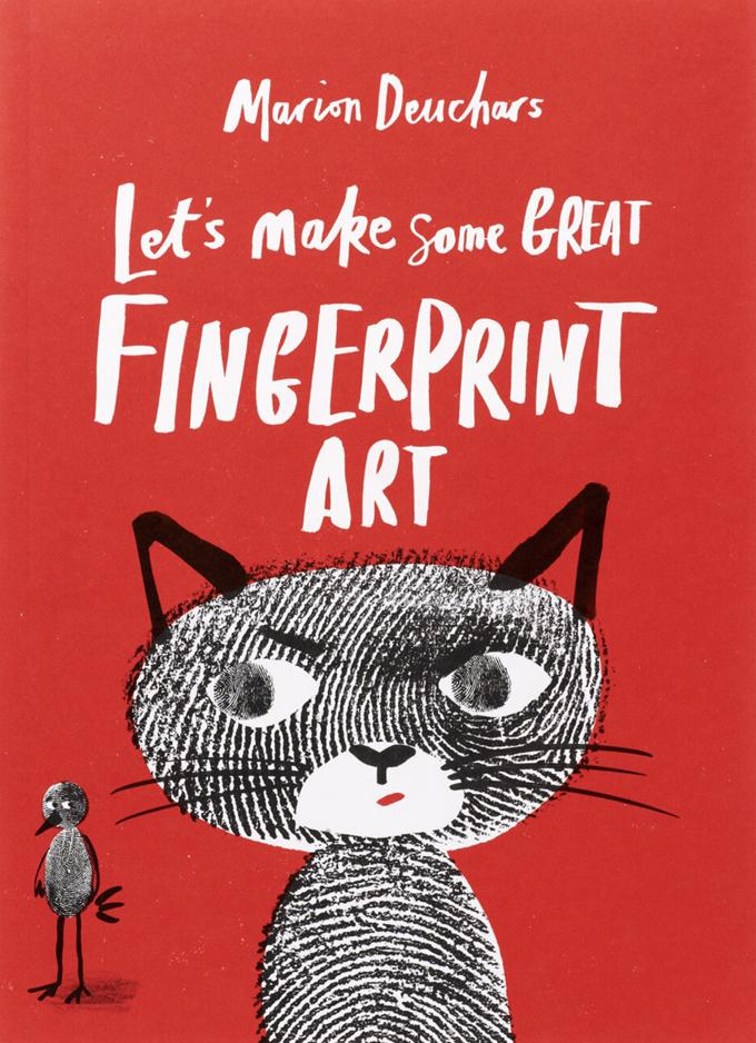 Let's Make Some Fingerprint Art, a drawing book by Marion Deuchars
