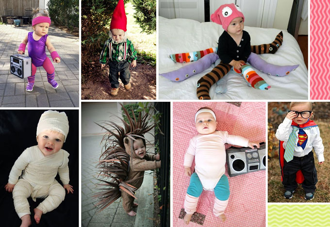 46 of the best, funniest, cutest and easiest DIY Halloween costumes for kids.