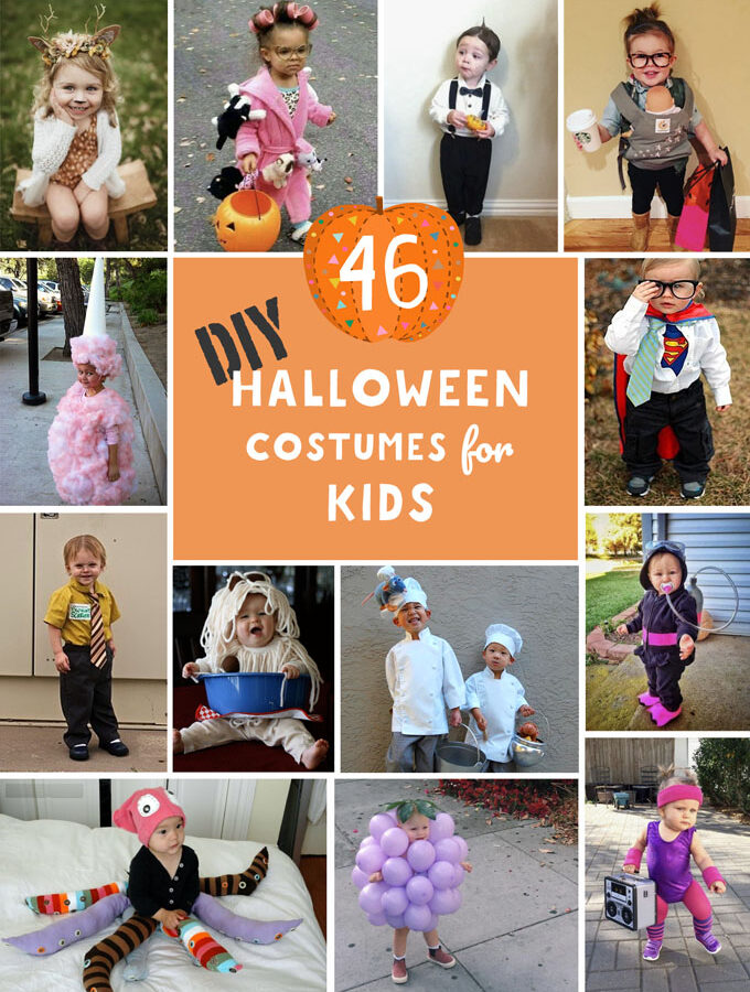 46 DIY Halloween Costumes for Kids