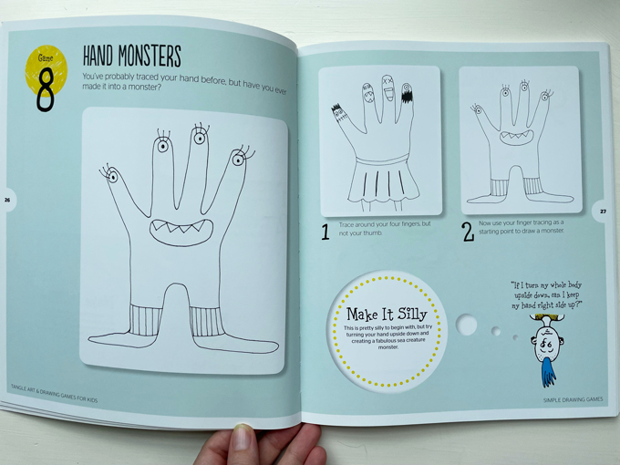 Tangle Arts & Drawing Games for Kids, by Jeanette Nyberg