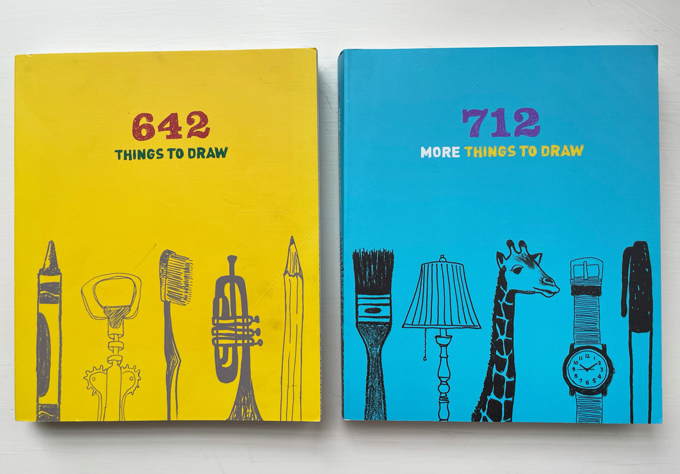 642 Things to Draw, and a sequel!