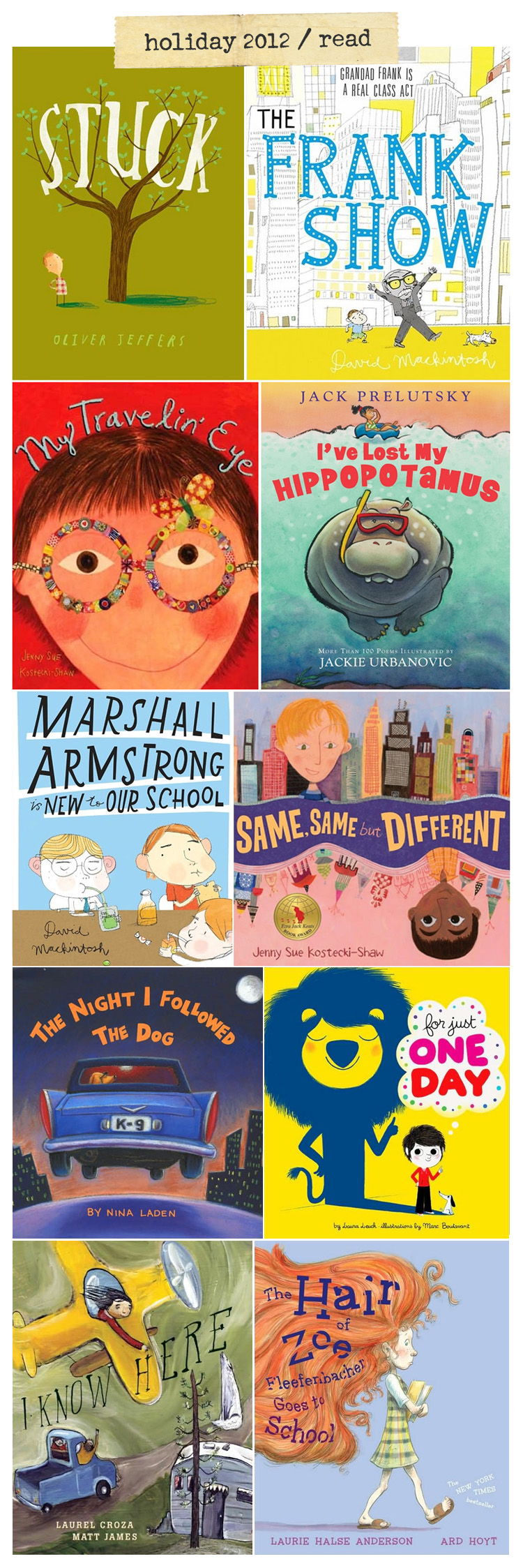 Best children's book of 2012