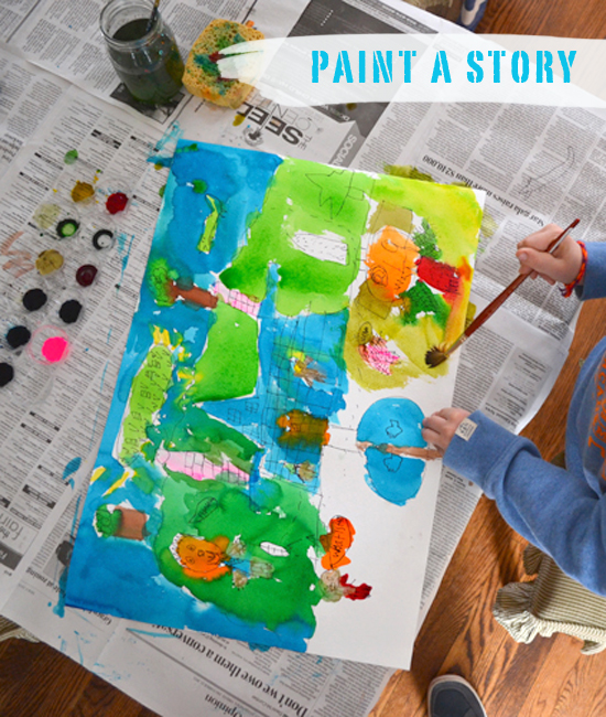 Painting prompt: Tell me a story