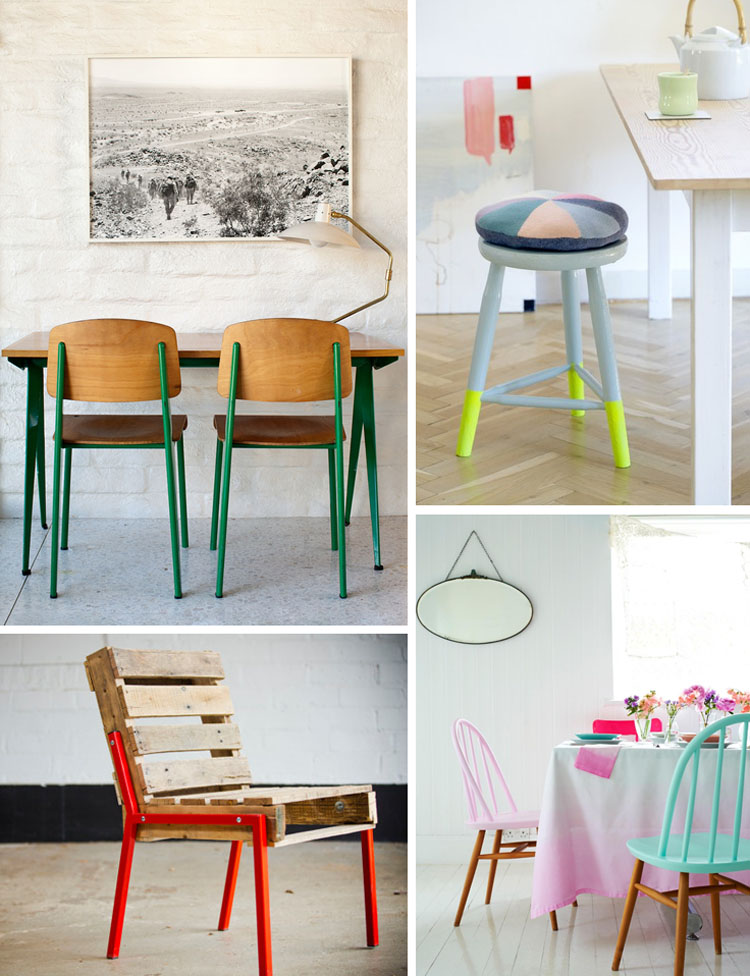 12 top favorite dip-dyed furniture