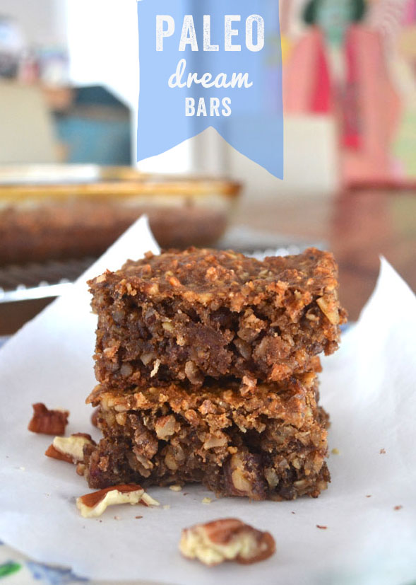 Paleo dream bars