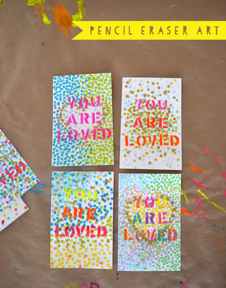 Stencil Art // You Are Loved