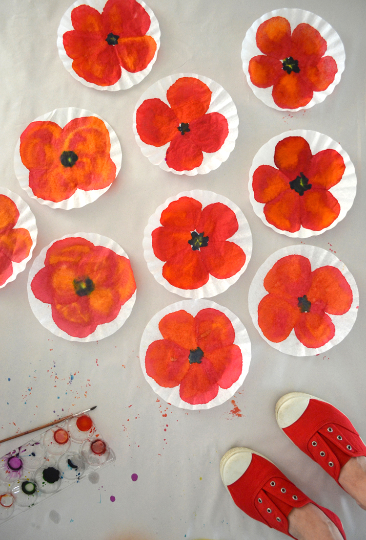 Poppies Art And Crafts