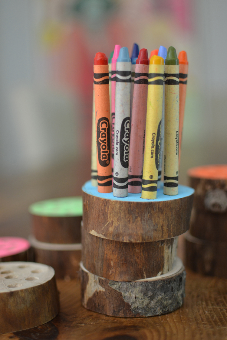 Crayon Holder {pencils, too}