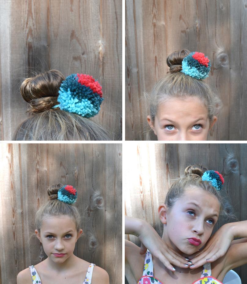 Pom-Pom Hair Ties