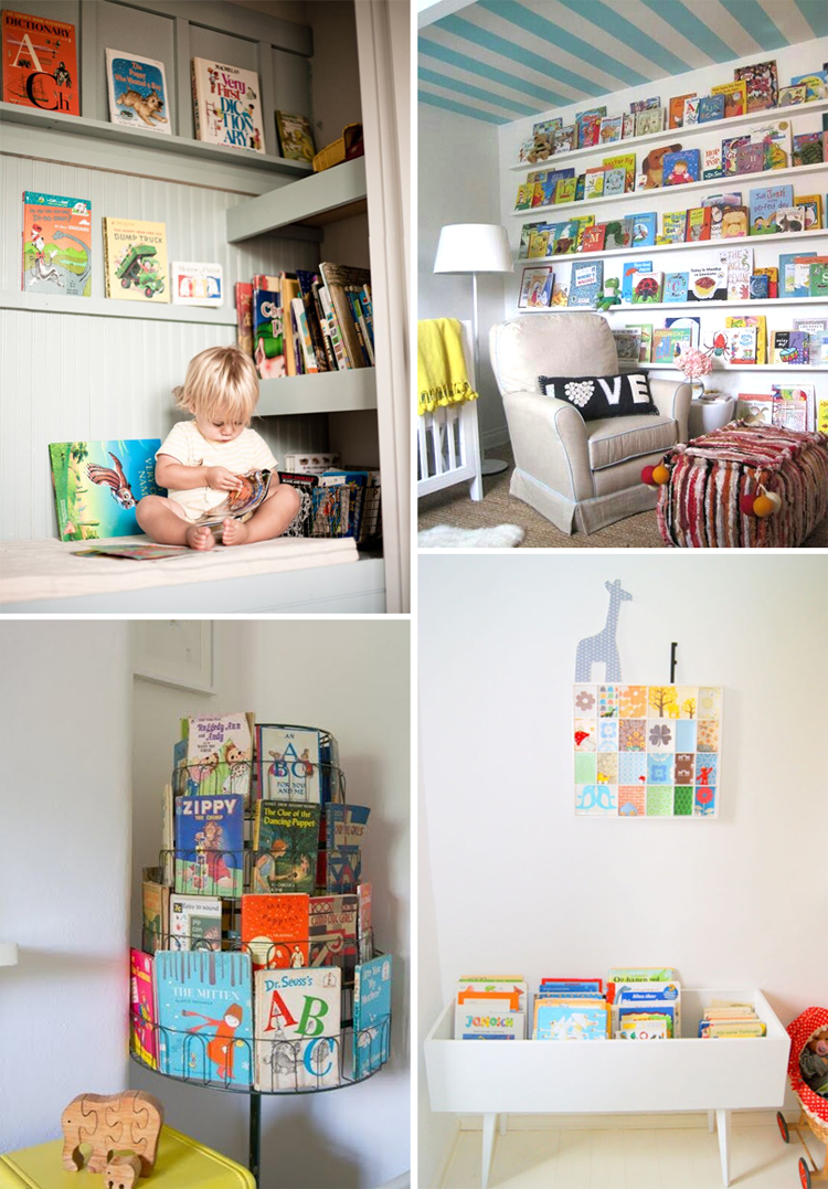 Book Nooks {24 ideas}