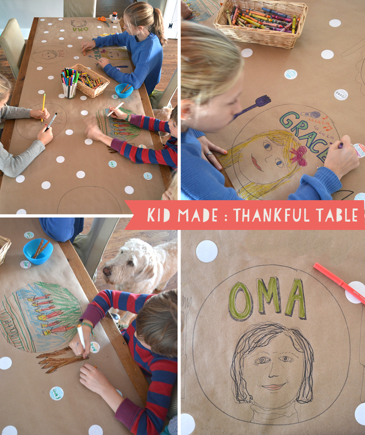 Kid Made: Thankful Table